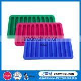 Food Grade Silicon Ice Cube Tray, Ice Stick Tray for Water Bottle