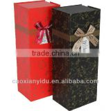 Wine Package Box Customized Gift Box ,Paper Package Box Customized Printing and Size,Print Book and Bag