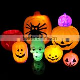Halloween series Items /Plastic pumpkins items/ led night light pumpkin