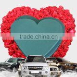 Hebei Huiya Heart Floral foam for Heart Gift Box