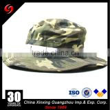 Camo Military boonie hat/custom bucket hat with string/embroidery bucket boonie custom hat