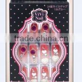 nail art packing (3DF crystal flower nail )