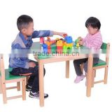 Factory Price Wooden Children Table, KD Children Table, Children Table With Chairs