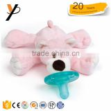 Baby animal environmental protection adult pacifier stuffed bear pacifier baby doll