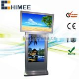 42inch lcd screen double side stand monitor (HQ42-42-2,support usb/cf/sd card)