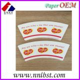 custom printed and die-cutting paper cup fan/PE coated paper for paper cup