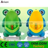 Factory new design frog potty cartoon urinal piss training urinal for boys