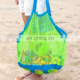 Large Foldable Sand Away Beach Mesh Bag Kids Toys Storage Bags