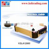 2014 Hot mini air hockey game table music,light,table top ice hockey outdoor wooden toys for sale