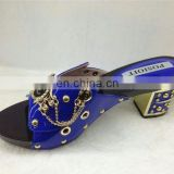 brand shoes and sandals(MD089) wholesale women slippers