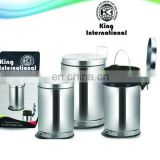 stainless steel garbage cans