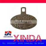 32x27mm Pull Slider for Hat,Garment,Belt and Bag,Made of Alloy,Sank pattern with plating finishing