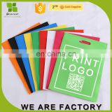 environment-friendly bags non-woven fabric handle shopping bags print logo