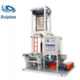 PE LDPE LLDPE Mini plastic film blowing extrusion machine