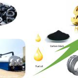 DOING continuous waste tyre pyrolysis plant to fuel