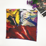Best Price Custom Fashion Digital Printing Japanese Silk Scarf