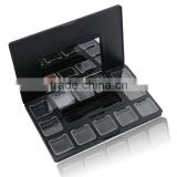 Wholesale eye shadow blush empty plastic palette