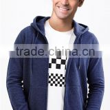 Men fancy hoodies zip up hoodies wholesale comfortable blank man hoody