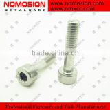 DIN7984 SCREW SUS304 SUS302 SCREW stainless hex cup head machine screw