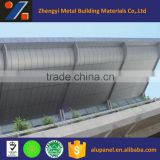 aluminum curtain wall cladding system material exterior wall panel