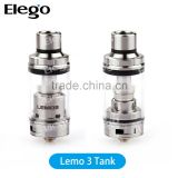 Elego offer 100% Original Ismoka Eleaf Lemo 3 Atomizer with EC 0.3ohm Head & EC NC 0.25ohm Head Eleaf Lemo 3 RTA