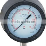 "113mm(4.5"") process pressure gauge safety pressure gauge polypropylene safety case,"