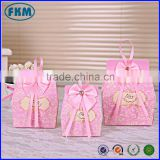 Pink Wedding Favors Gifts Candy Box Chocolate Box with Ribbon                                                                         Quality Choice