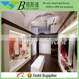 modern lighted clothing shop furniture interior design for clothes display