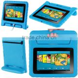 for Amazon Kindle Fire HD 7 Inch Tablet Light Weight Super Protection Convertable Stand Cover Case Kids friendly blue