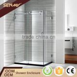 New Product Frameless Tempered Glass Shower Cubicles Enclosure Sri Lanka