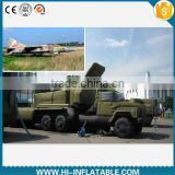 Hot sale inflatable military missile, military missile inflatable for advertising