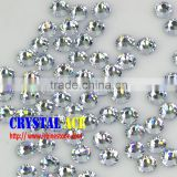Superior quality non hot-fix rhinestones, flat back glass stones for sunglasses decorating