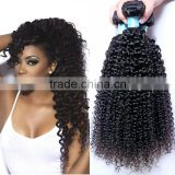 Best Selling Peru Human Hair Afro Kinky Hair Extension, Alibaba Cheap Human Hair Extension, Natural Curly Hair Extension