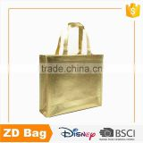 Fashinable Metal Film Lamilation Non Woven Bag Customized Laminated Non Woven Shopping Bag