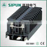 SN-10W AWG 22-16 barrier black din rail terminal block                                                                                                         Supplier's Choice