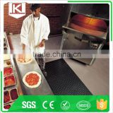 Hardness 65+-5 shore with bone drainage hole marine flooring basketball court rubber mat