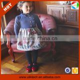 Wholesale cheap price china shenzhen kids clothing little giels clothes in autumn (Ulik-A0393)