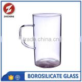 heat resistant tall and thin drinking glass cup