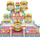 Children Attractions!! Amazing&Safety Colorful Mini Ferris Wheel for Children Game ,Used Amusement Kidid Rides for Sale