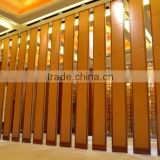 china manufacturer aluminium high quality folding door partition for school