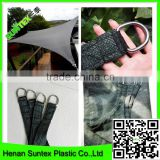 150-300g Swimming pool Triangle square HDPE material waterproof sun shade sail, outdoor playground colorful shade net