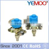 R404a solder refrigeration solenoid valve high effect liquid copper solenoid valve prices