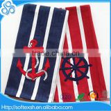 china supply Cotton yarn dyed nautical tea towel                                                                                                         Supplier's Choice