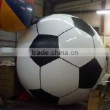 Football shape PVC balloon, 1m diameter PVC balloon, pvc balloon for games, sports balloon