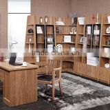 Classic solid wood American style study room furniture, classic bookcase GZH-A171
