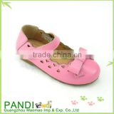 China classic design beautiful casual flat shoes for child