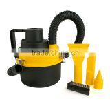 (WIN-602) Portable 12V Wet & Dry Canister Car Vacuum Cleaner Hose Inflation Pump DC Plug