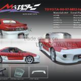 Fiberglass body kits for 90-97-MR2