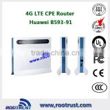 Huawei B593u-91 100Mbps 4G TDD LTE CPE Router (Unlocked) for Computers/Tablets & Networking, Home Networking & Connectivity