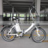 "#CE EN15194 lady style 20"" folding electric bicycle/bike aluminum alloy frame XY-EB003F"